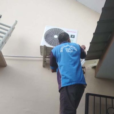 Bongkar pasang AC di bengkong Batam