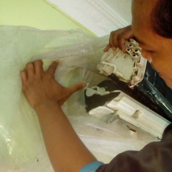 Service Cuci AC bongkar Evaporator di perumahan Batam