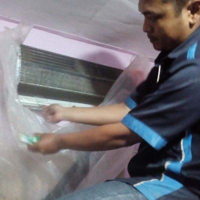 Service cuci ac standard di perumahan kota Batam